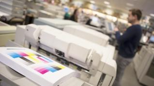 Snelle uitvoering van uw digitaal drukwerk.