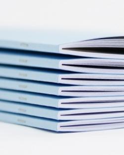 Digitaal tijdschriften drukken.